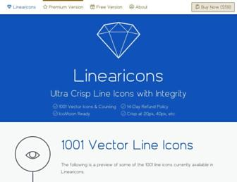 linearicons.com screenshot
