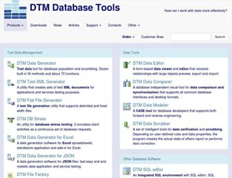sqledit.com screenshot