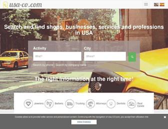 usa-co.com screenshot