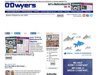 odwyerpr.com screenshot