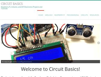 circuitbasics.com screenshot