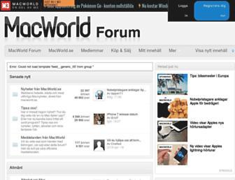 forum.macworld.se screenshot