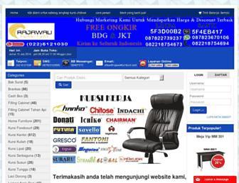 mejakantorbandung.com screenshot
