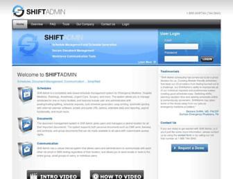 Thumbshot of Shiftadmin.com