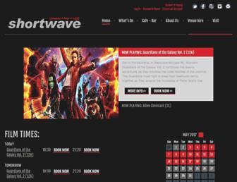 shortwavecinema.com screenshot