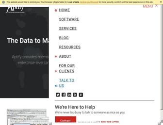 aptify.com screenshot