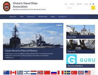 Screenshot for hnsa.org