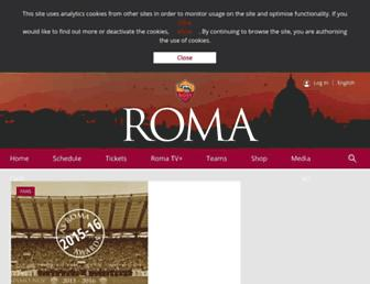 Thumbshot of Asroma.it