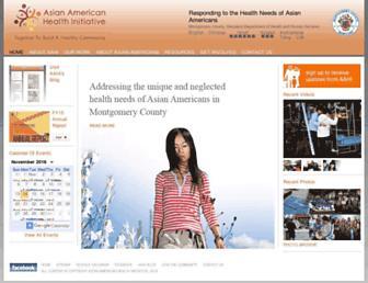 aahiinfo.org screenshot