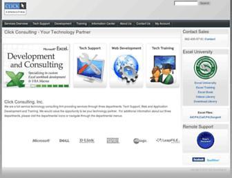 clickconsulting.com screenshot