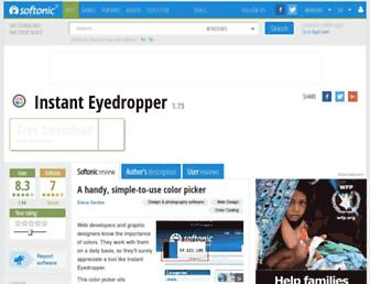 instant-eyedropper.en.softonic.com screenshot