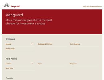 global.vanguard.com screenshot