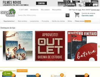 Thumbshot of Gospelgoods.com.br