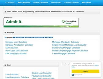 ncalculators.com screenshot