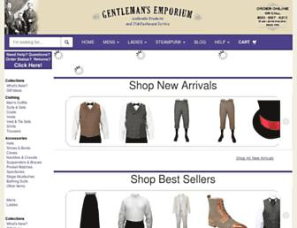Thumbshot of Gentlemansemporium.com
