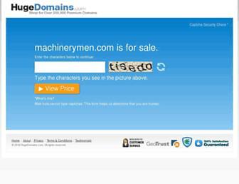 machinerymen.com screenshot