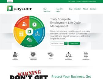 Thumbshot of Paycomonline.net