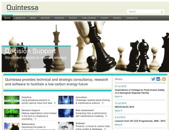 quintessa.org screenshot