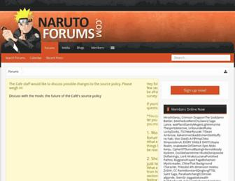 Thumbshot of Narutoforums.com