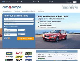 Thumbshot of Autoeurope.eu
