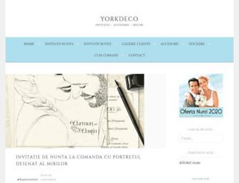 yorkdeco.ro screenshot