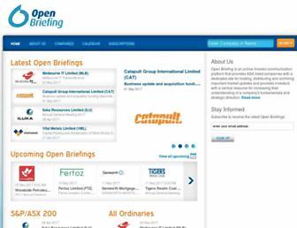 openbriefing.com screenshot