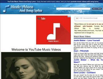 ymusicvideos.com screenshot