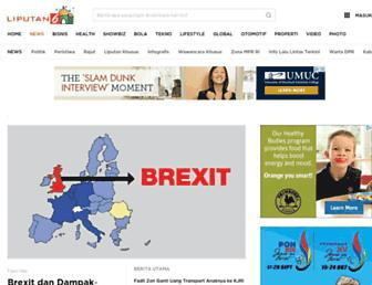 news.liputan6.com screenshot