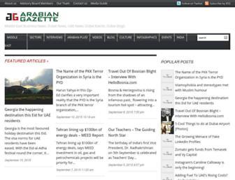 Thumbshot of Arabiangazette.com