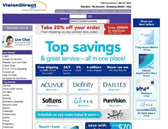 Thumbshot of Visiondirect.com