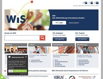 wis.ihk.de screenshot