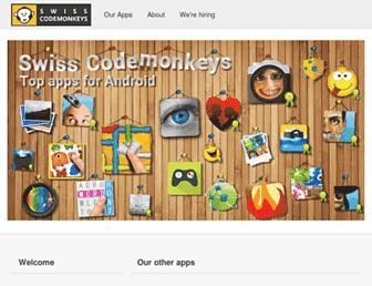 swiss-codemonkeys.com screenshot
