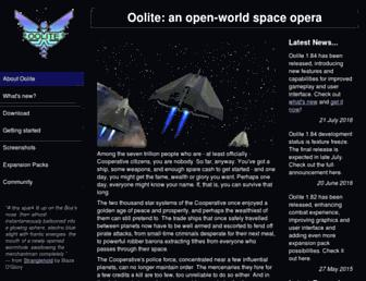 oolite.org screenshot
