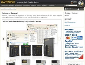 batronix.com screenshot