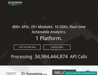 api.shephertz.com screenshot