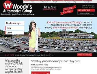wowwoodys.com screenshot