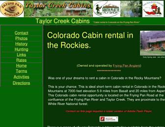Thumbshot of Rent-cabins-colorado.com