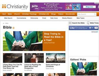 Main page screenshot of christnotes.org