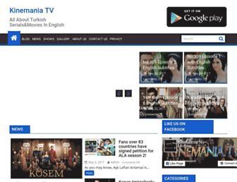 kinemania.tv screenshot
