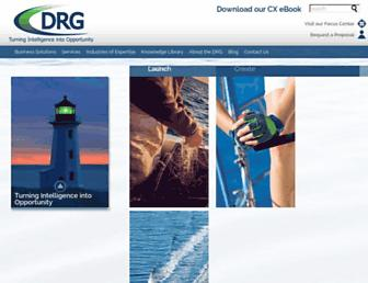 thedrg.com screenshot