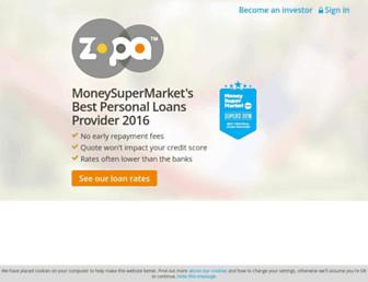 Thumbshot of Zopa.com