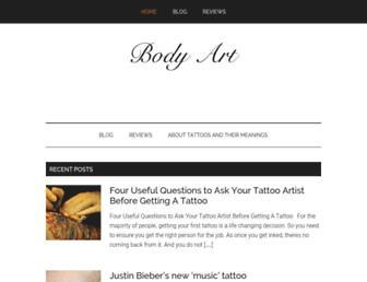 searchbodyart.com screenshot