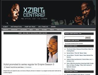 xzibitcentral.com screenshot
