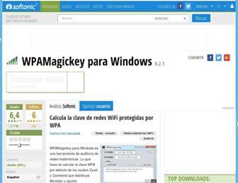 wpamagickey-para-windows.softonic.com screenshot