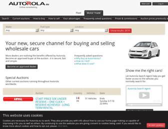 autorola.eu screenshot
