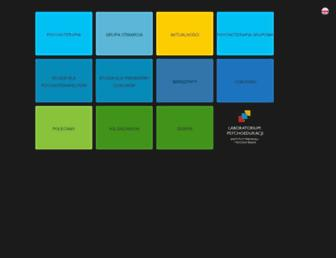 Main page screenshot of lps.pl