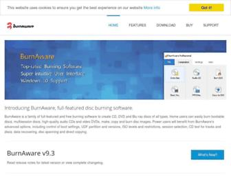 Thumbshot of Burnaware.com
