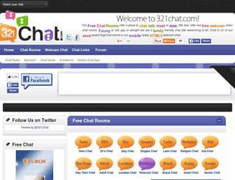 321chat.com screenshot