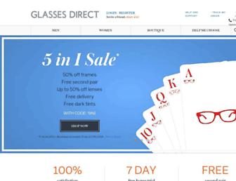 Thumbshot of Glassesdirect.co.uk