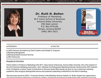 ruthnbolton.com screenshot